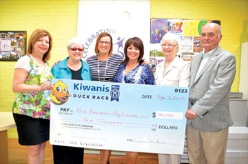 Kiwanis comes up with 'Big' donation