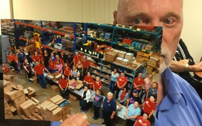 United Way, volunteers get packing for a good cause